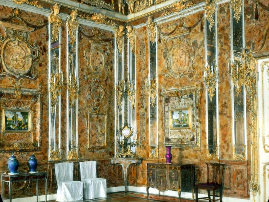 Легендарная Янтарная комната