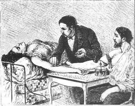 переливание крови человеку