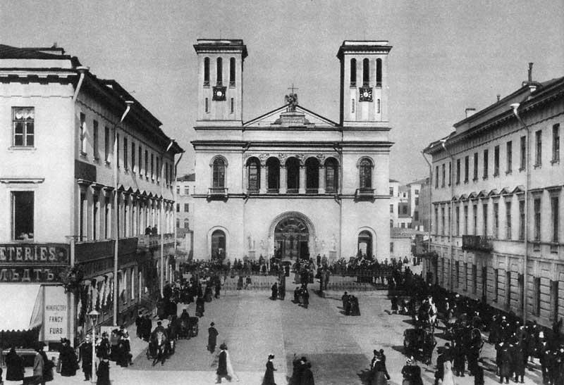Лютеранская церковь Петра и Павла на Невском проспекте