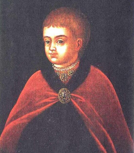 Пётр Алексеевич в детстве