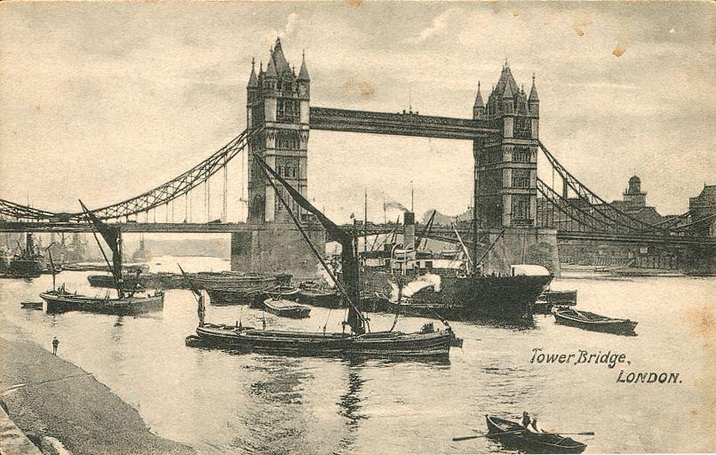 лондонский мост — Тауэр бридж