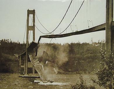 мост у города Такома