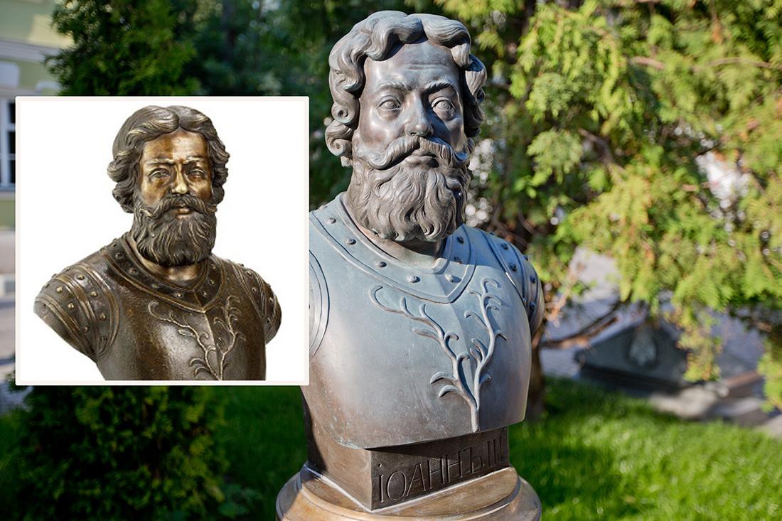 Иван III в исполнении Церители