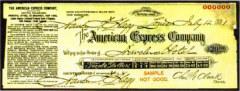 дорожный чек «American Express»