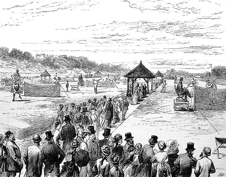 В Уимблдоне стартовал первый теннисный турнир