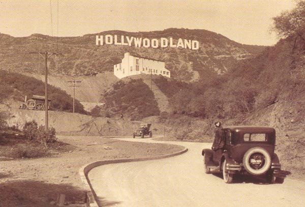 знаменитая надпись «Hollywood»