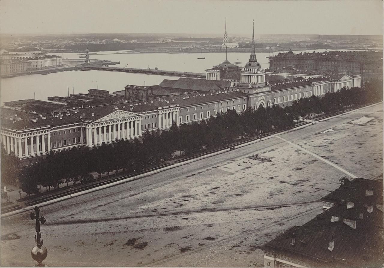 Вид на Адмиралтейство от Исаакиевского собора
