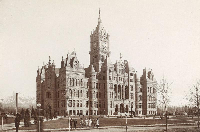 В 1847 году заложен город Солт-Лейк-Сити