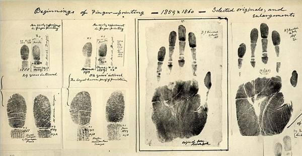 Отпечатки пальцев уникальны
