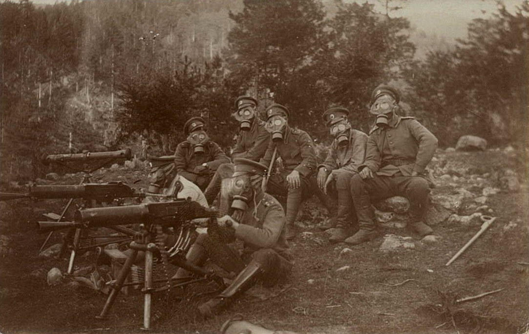 Началась Первая мировая война
