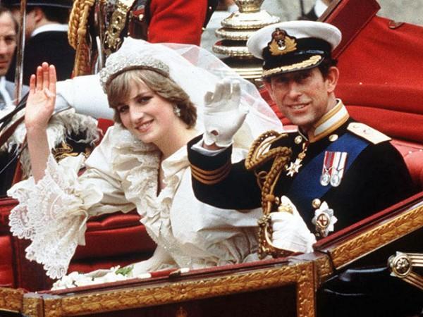 бракосочетание наследника британского престола Чарльза принца Уэльского и леди Дианы Спенсер