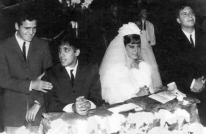 Свадьба Адриано Челентано