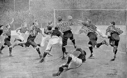 футболисты конца XIX века