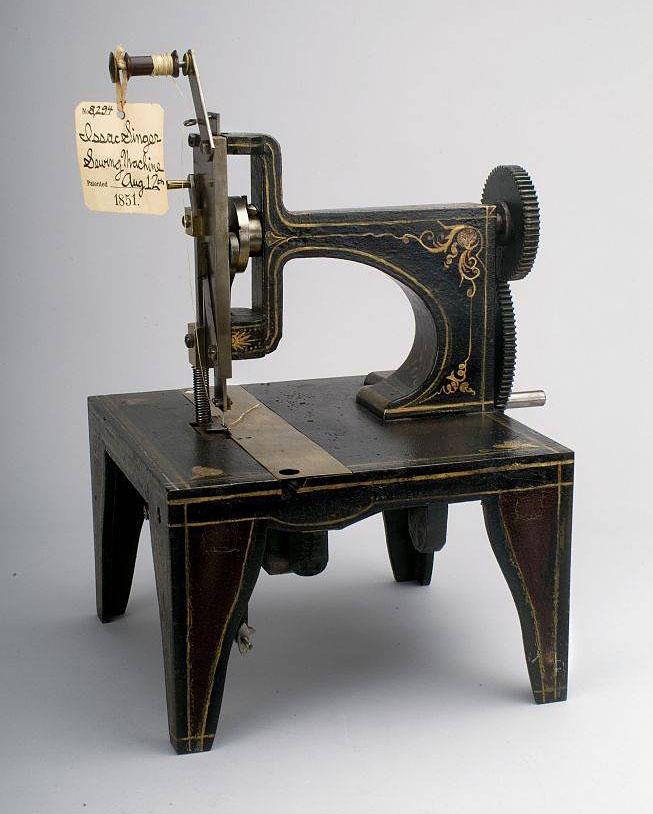 швейную машинку с челночным стежком