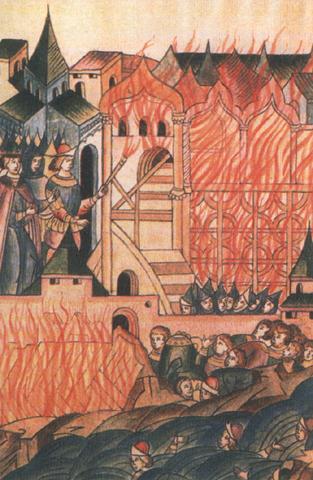 Восстание в Твери против татар. Неизвестный автор