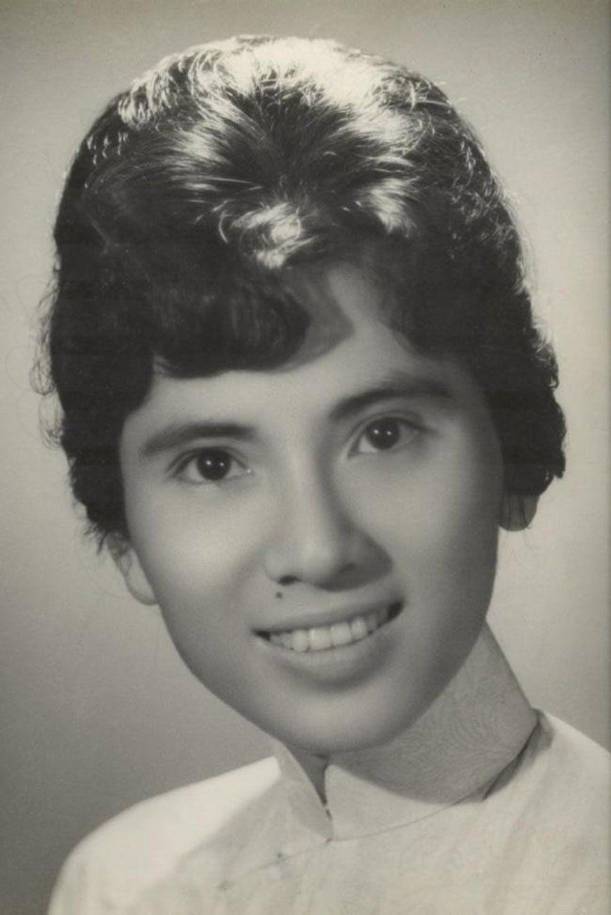 Мать Тереза в 18 лет