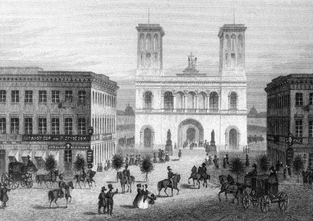 здание лютеранской церкви Святых Петра и Павла на Невском проспекте