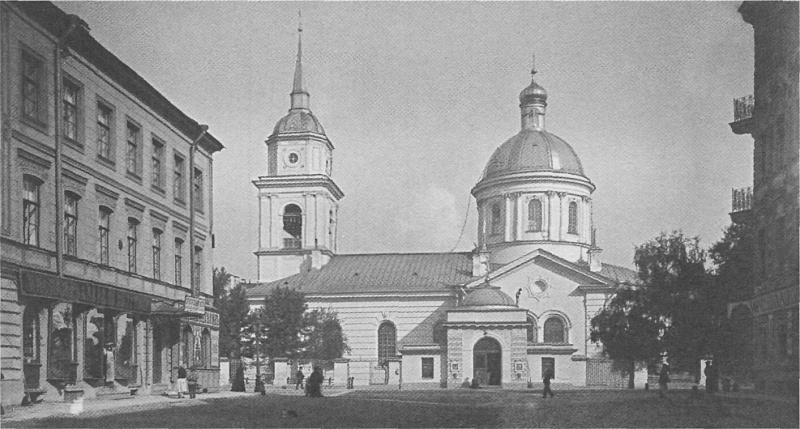 Церковь Покрова в Большой Коломне. Фото Н.Г. Матвеева, 1900-е