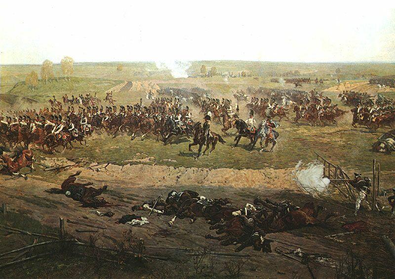 панорама Франца Рубо «Бородинская битва»