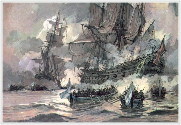 День победы русской эскадры у мыса Тендра (1790)