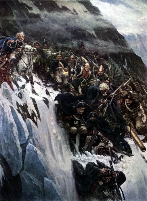 переход через Альпы армии А.В.Суворова