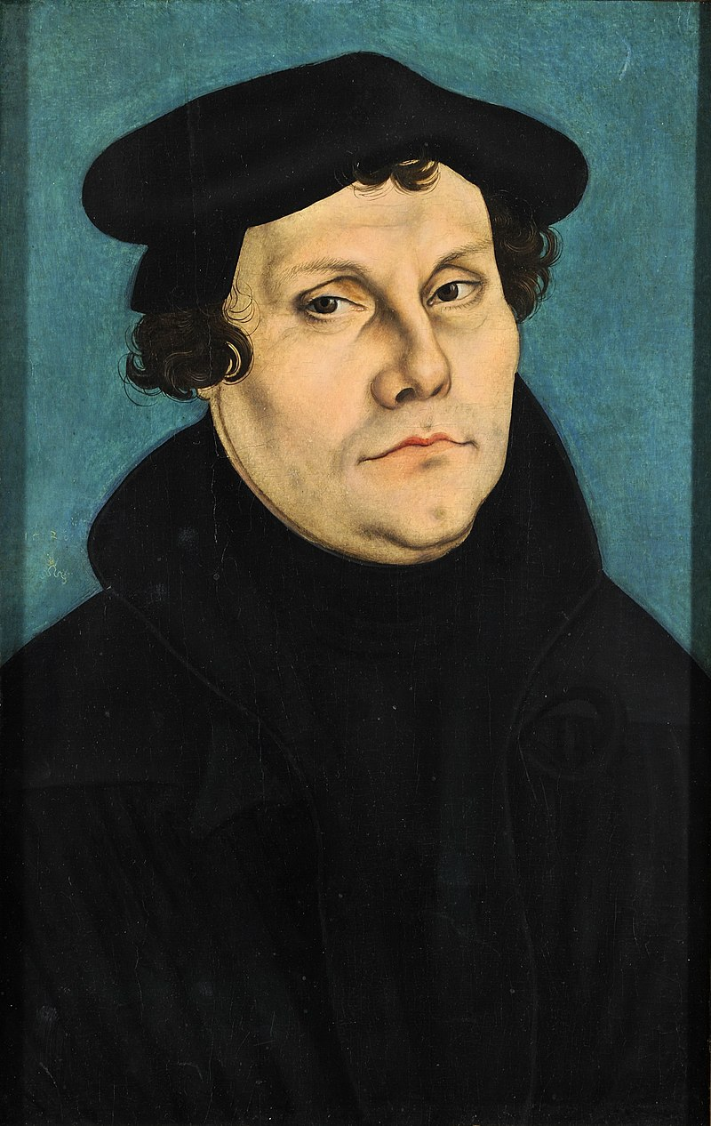 the points of contentions between martin luther and the roman catholic church