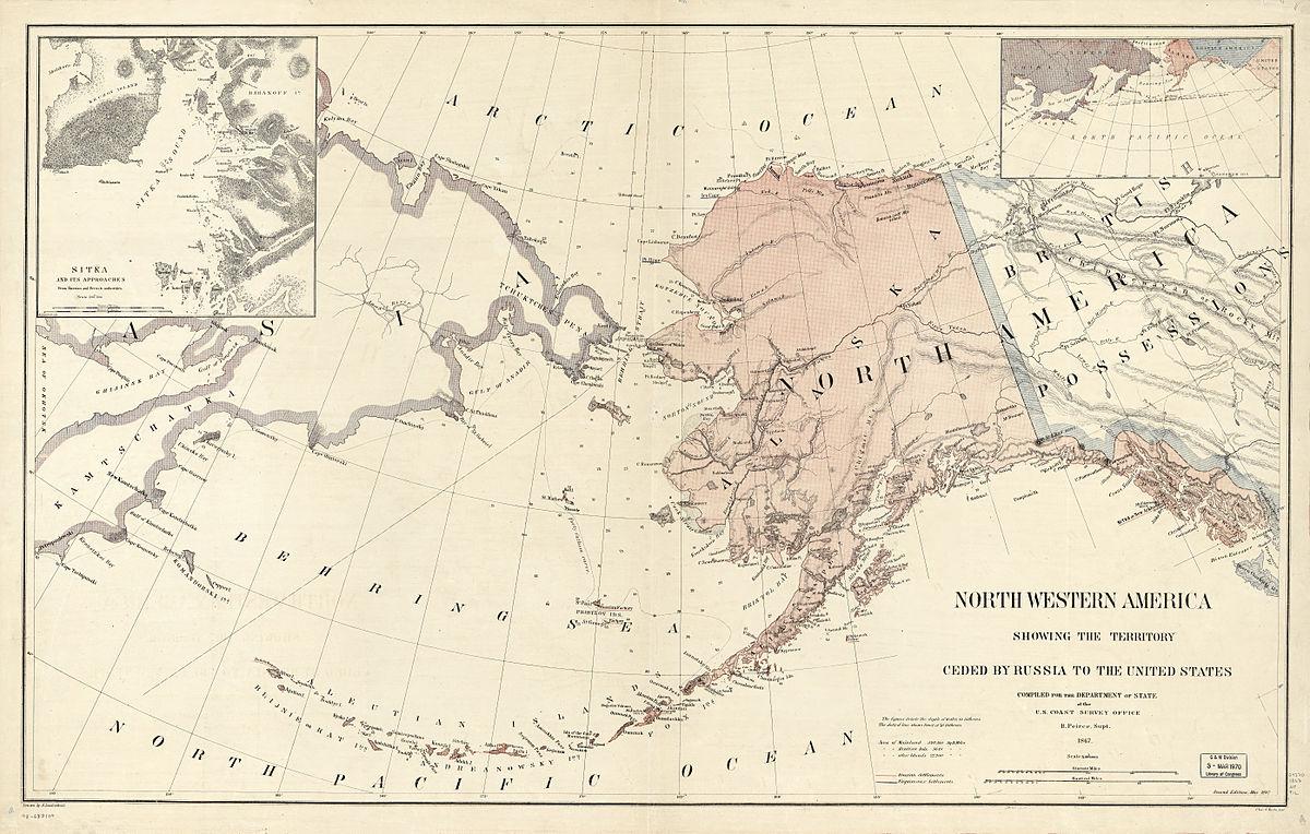 Аляска 1867 год