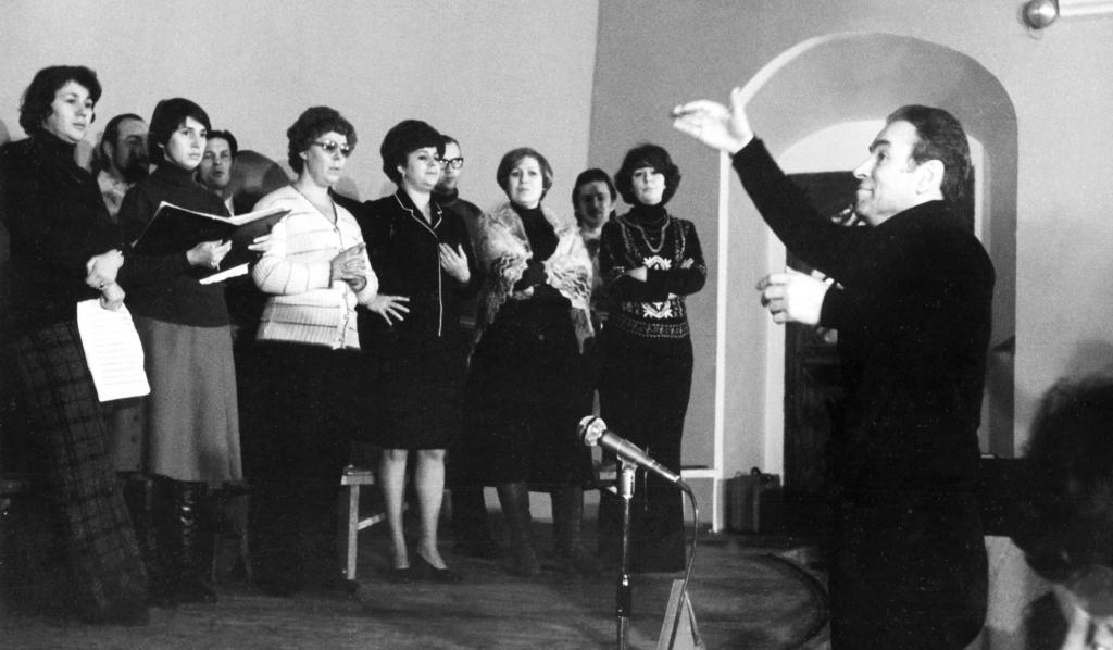 Репетиция Московского камерного хора