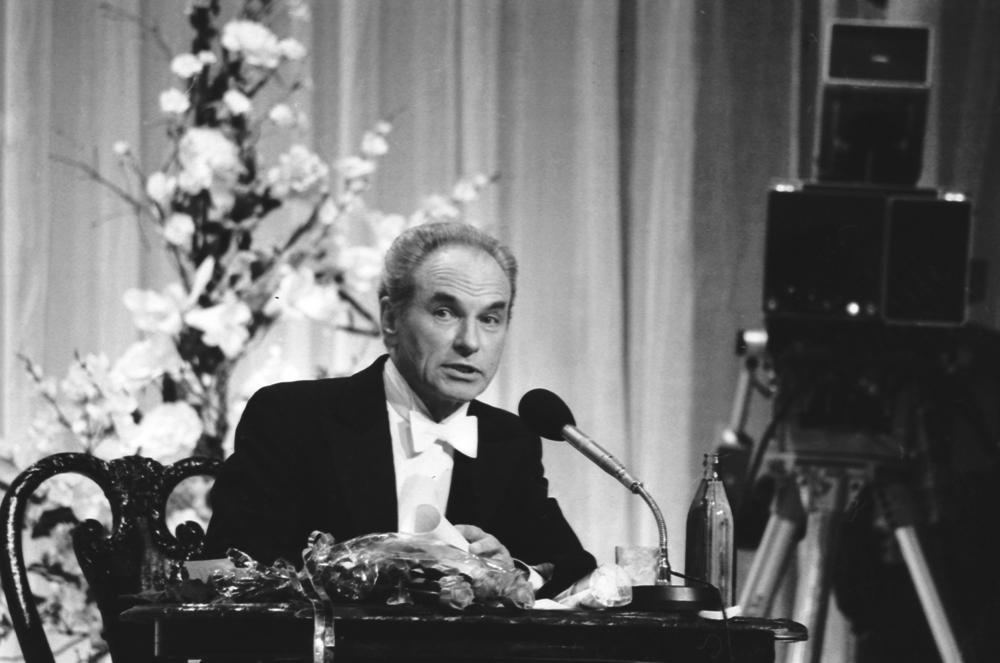 Владимир Минин в Концертной студии Останкино (1980-е гг.)