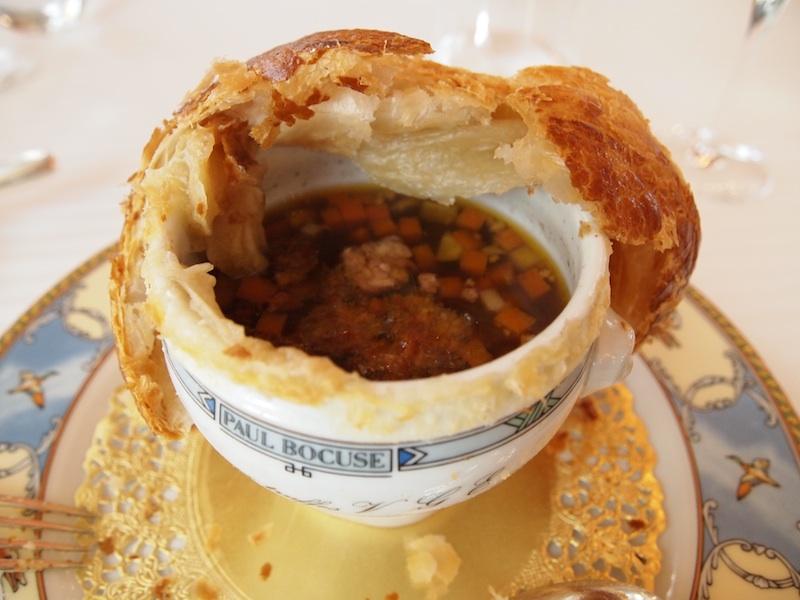 суп с трюфелями