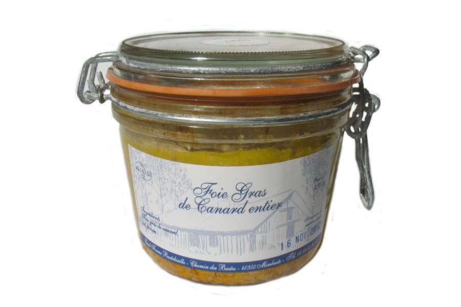 foie gras en conserve
