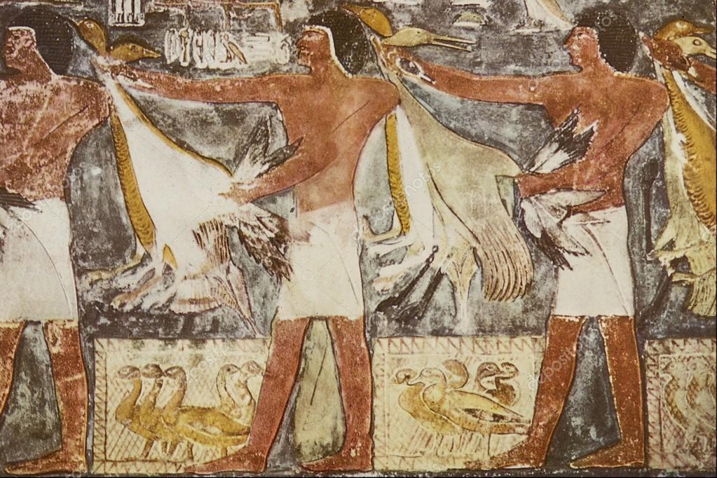 фрески кормления уток