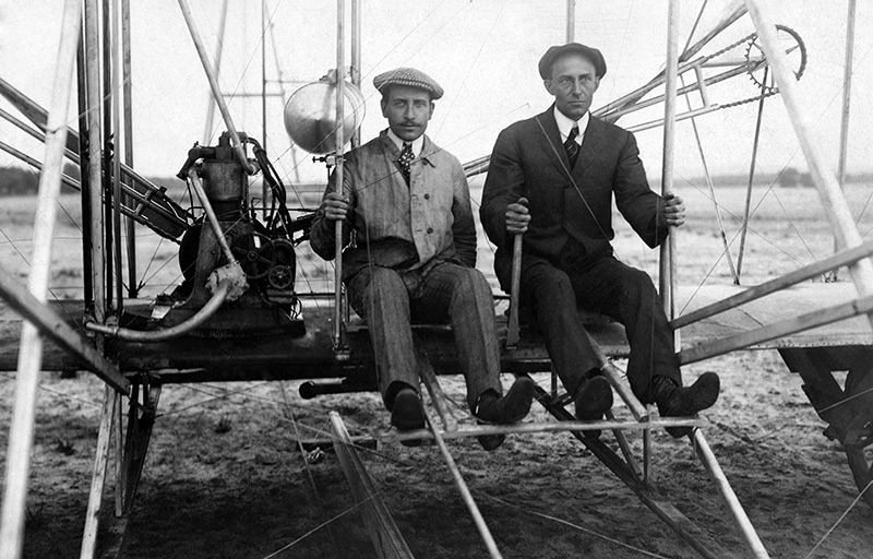 an overview of the brothers wilbur and orvilles flight machine in 20th century Even at the turn of the century  wilbur wright first flight by wright brothers we estimated that the machine could be put in condition for flight again in.