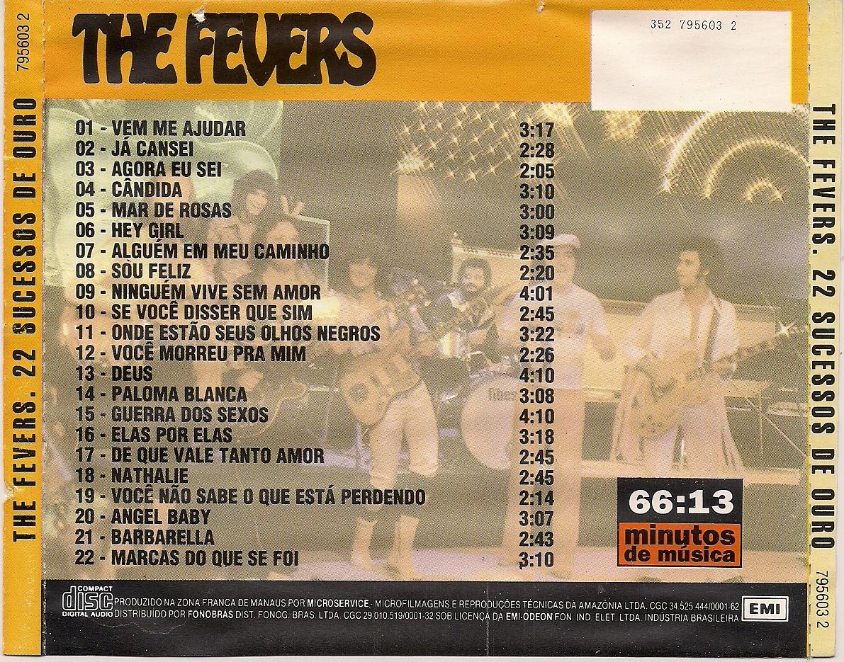 cd the fevers sucessos de ouro