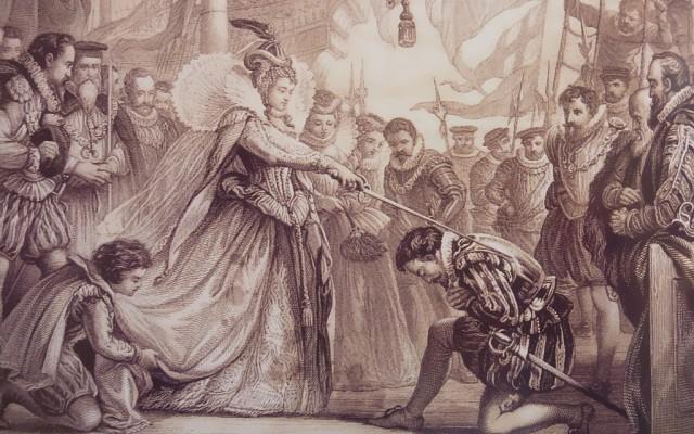 Фрэнсис Дрейк был посвящен в рыцари
