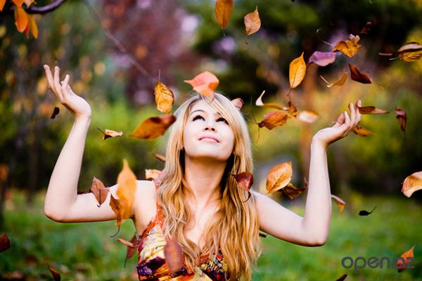 осннние листья
