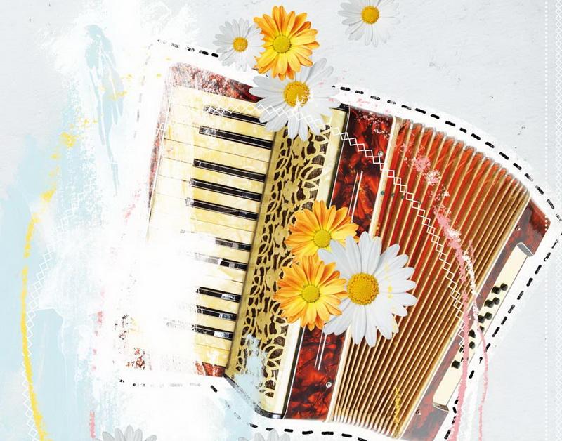 поздравительные открытки с баяном варианты