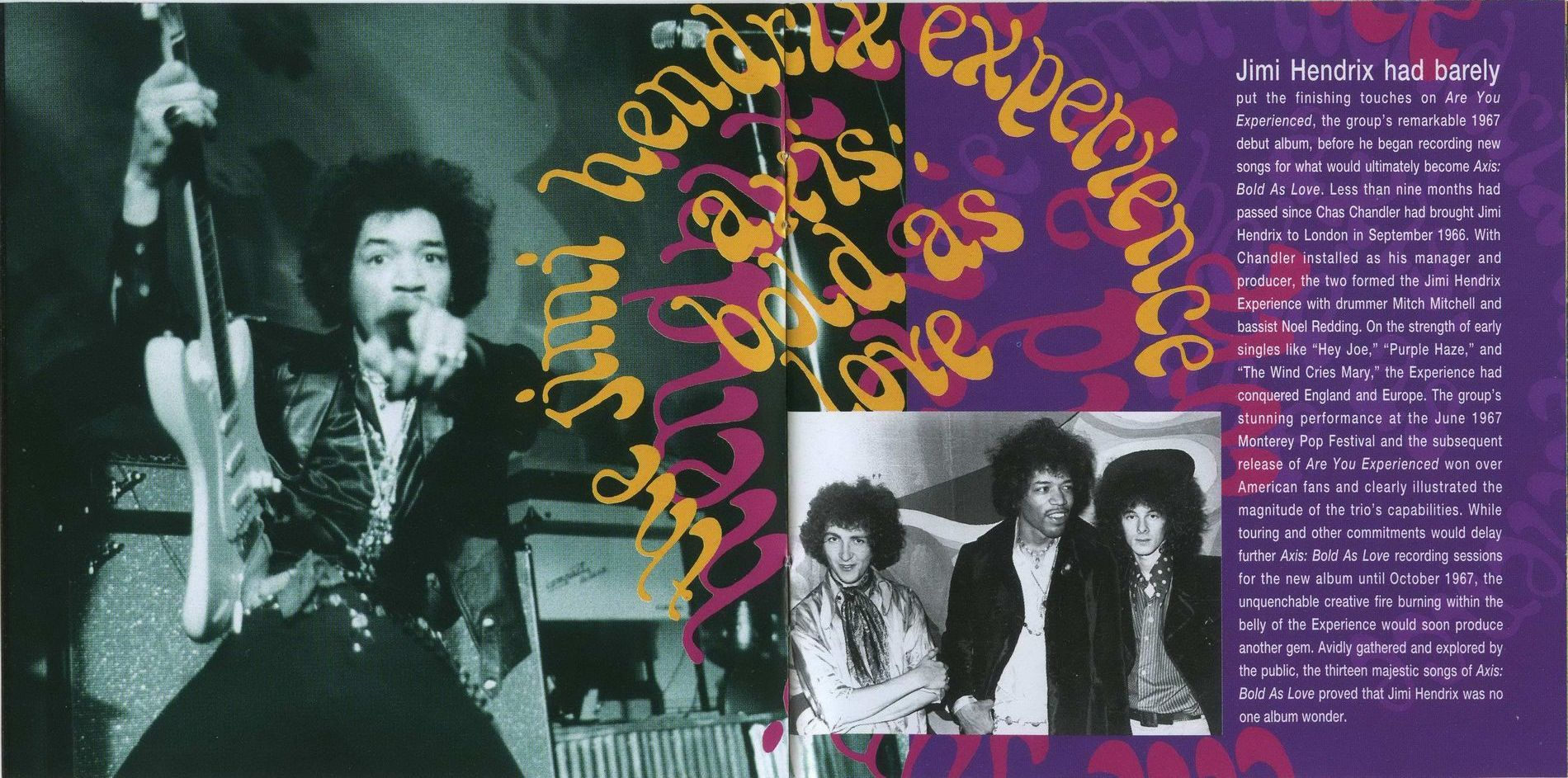 jimi hendrix first album in early 1967 The jimi hendrix experience was inducted into the rock and roll hall of fame in 1992 the jimi hendrix experience released their first album in 1967 titled are you experienced after jimi's death in 1970, 12 albums were released under his name from 1971 to 2013.