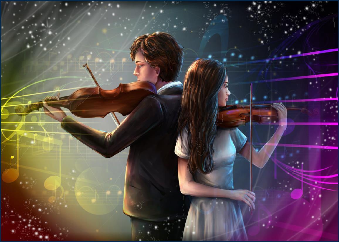 Музыкальные картинки о любви