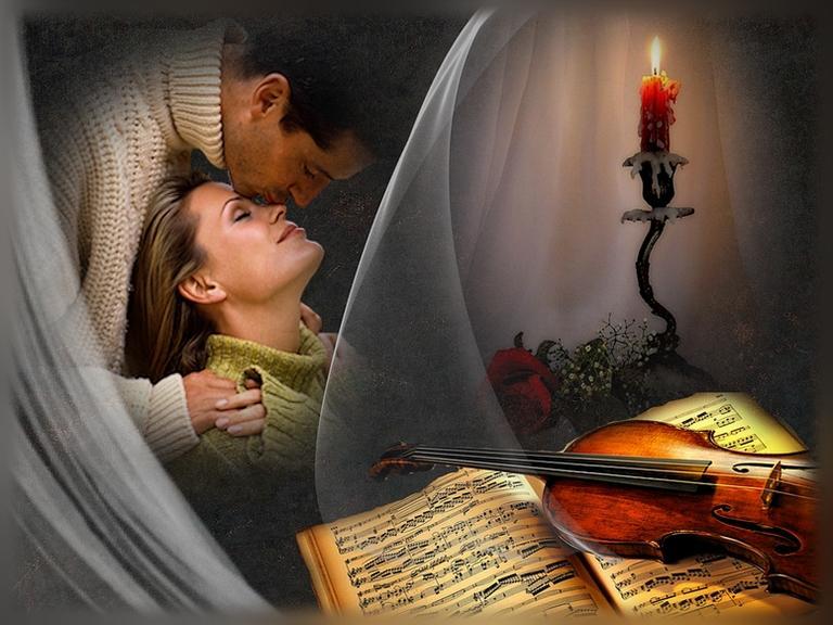 Музыкальные открытки с песнями о любви, мир картинки фоны