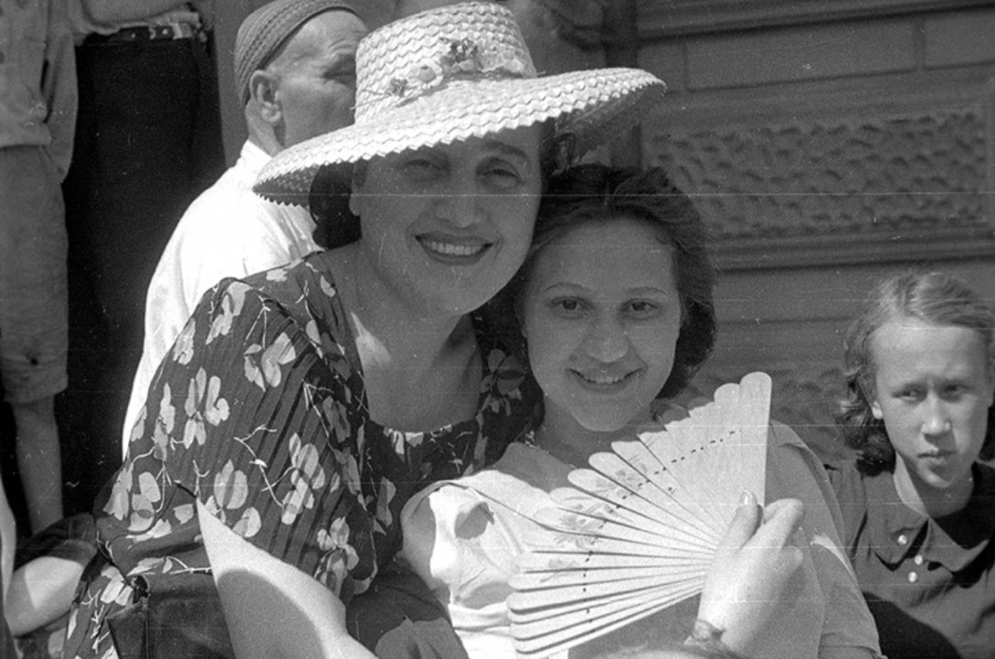 Ивницкая С.М. с дочерью