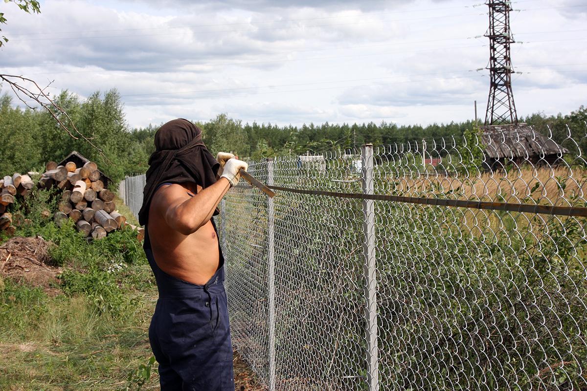 сделать забор