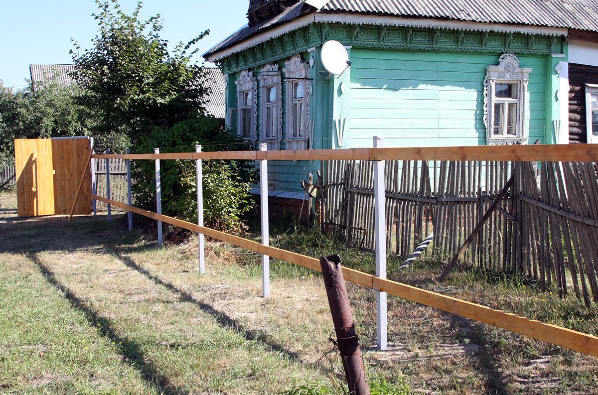 строить забор