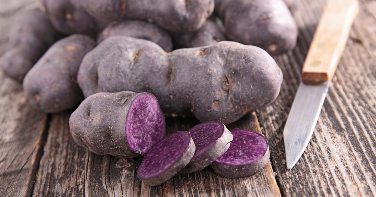 Пурпурный картофель