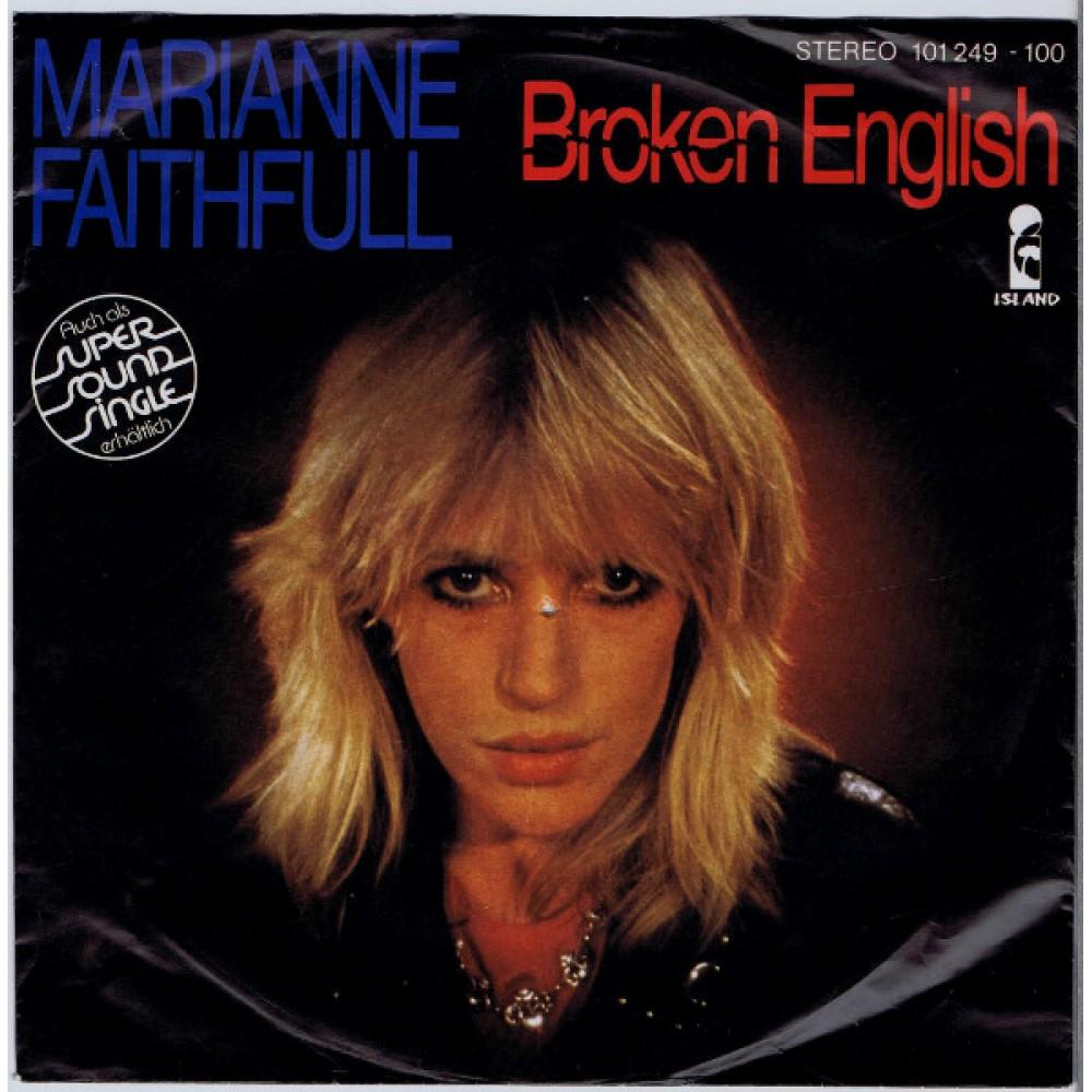 Marianne Faithfull Broken English