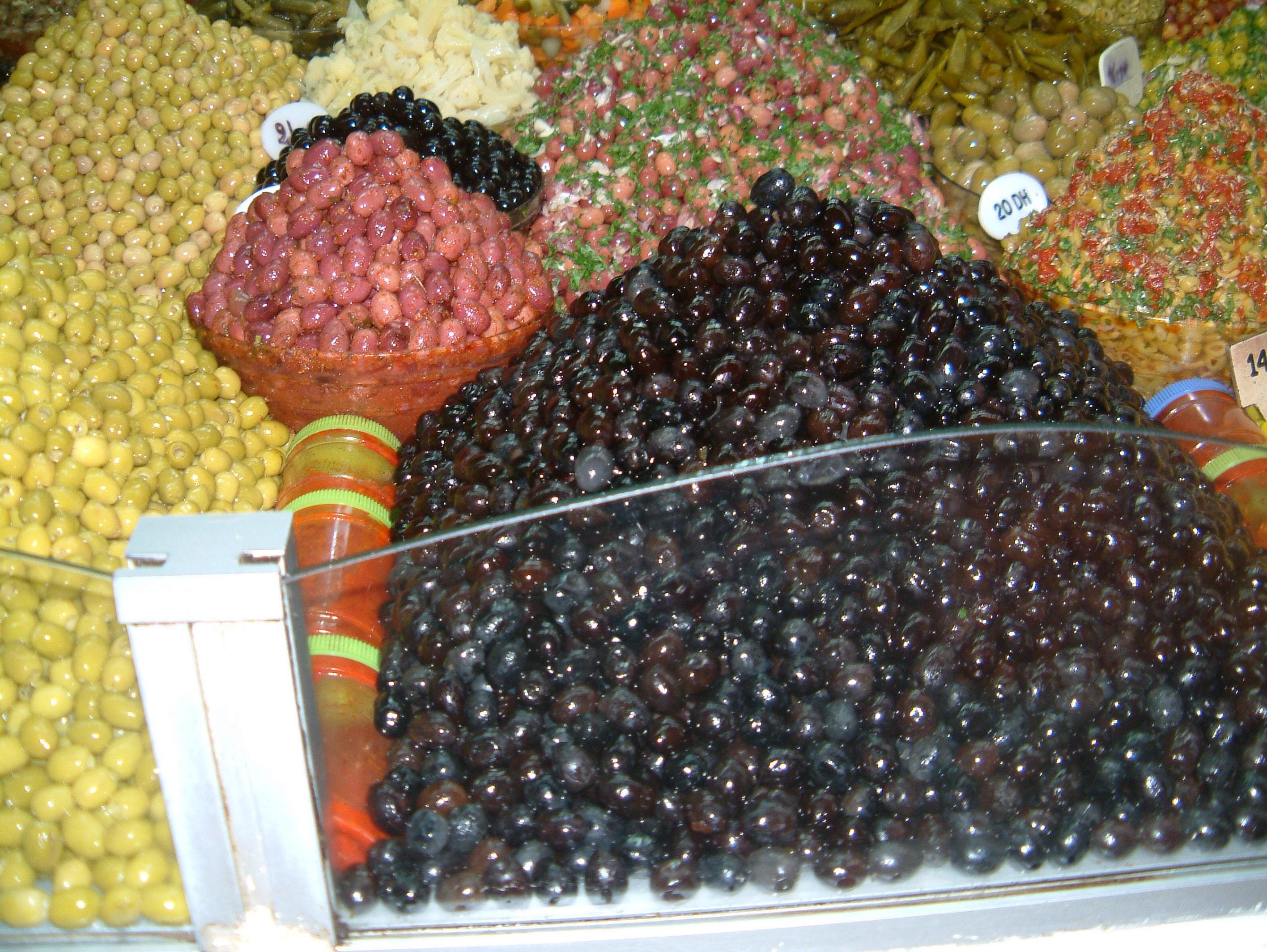 Марокканские оливки