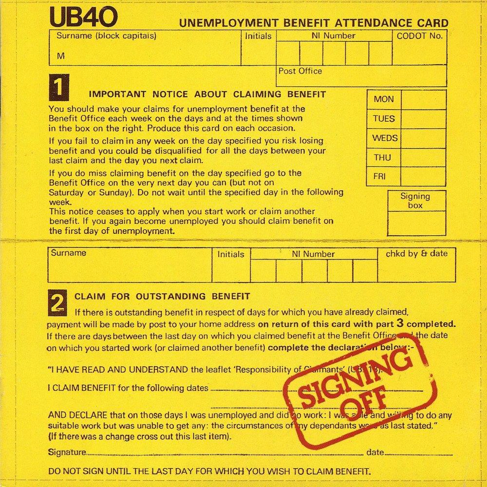 ub40 card
