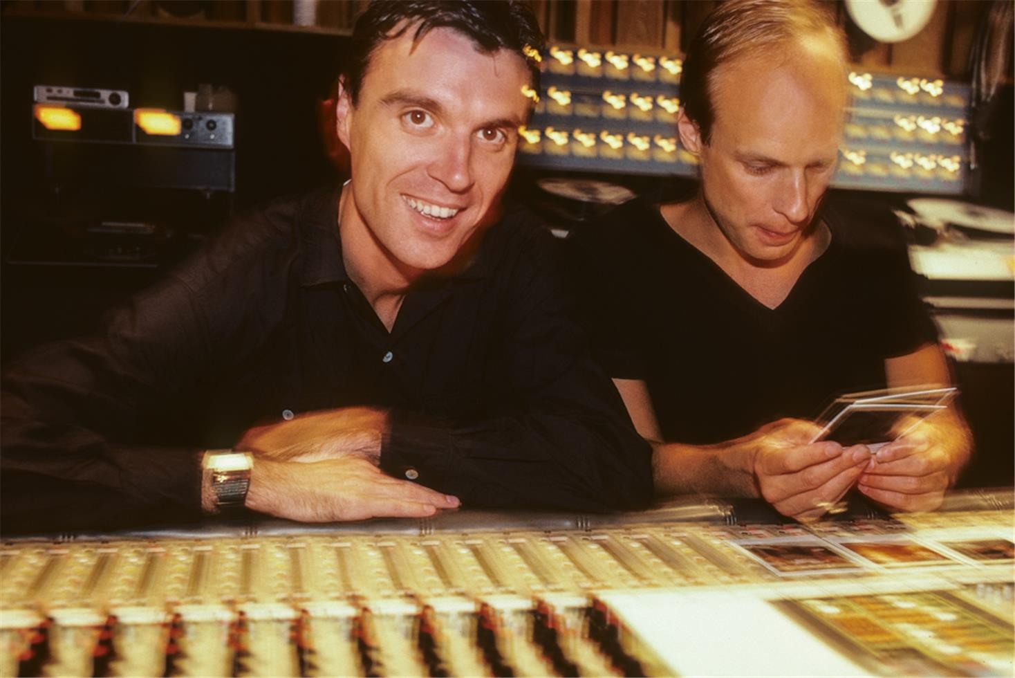 David Byrne and Eno 1981