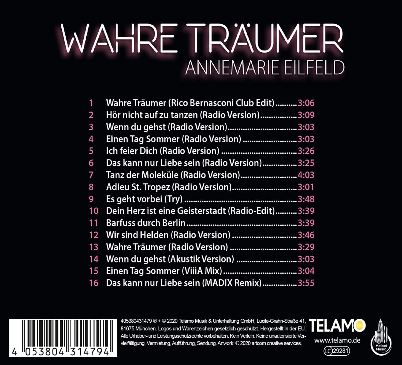 Annemarie Eilfeld - Wahre Träumer (2020)