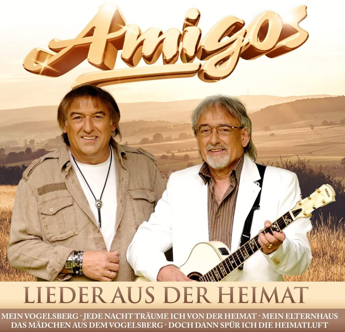 Amigos - Lieder aus der Heimat (2020) Front
